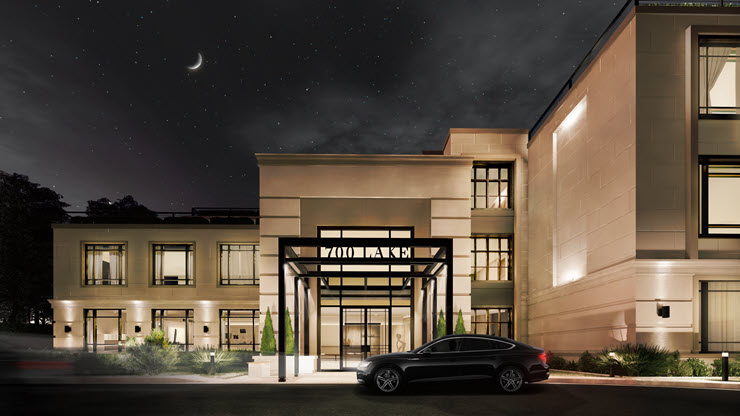 700 Lake - Night Front Entrance (best)